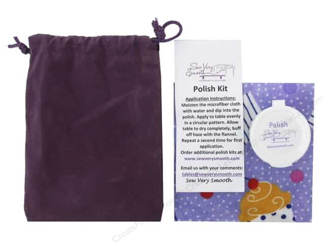 Sew Very Smooth Notions Polish Kit Table & Sewing Machine