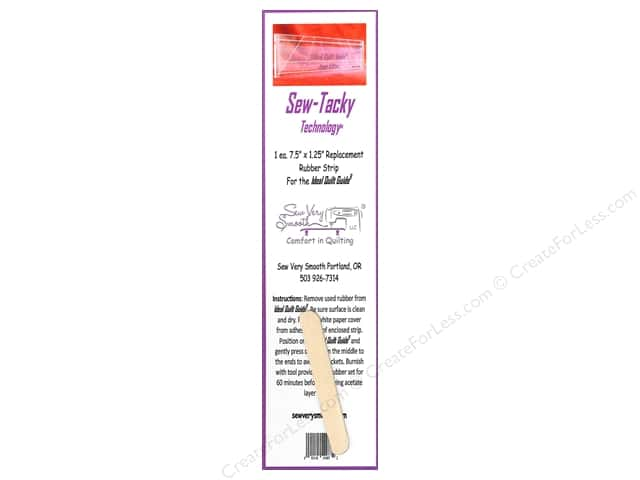 "Sew Very Smooth Notions Sew Tacky Tech 7.5"" Strip 1 Pack"