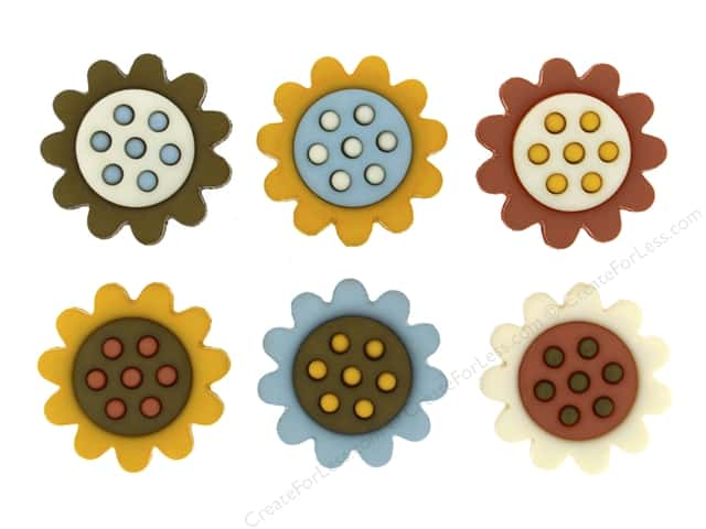 Jesse James Dress It Up Embellishments Sunflower Season