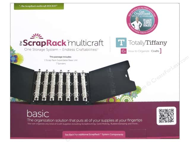 Totally Tiffany Organizers ScrapRack Multicraft Base Unit