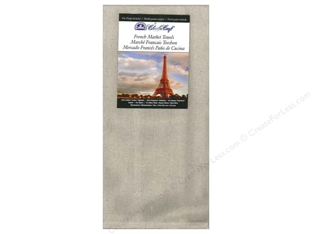 Charles Craft French Market Towel 15 x 25 in. Medium Natural