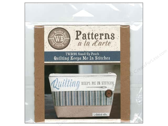 The Wooden Bear A La Carte Quilting Keeps Me In Stitches CD Pattern