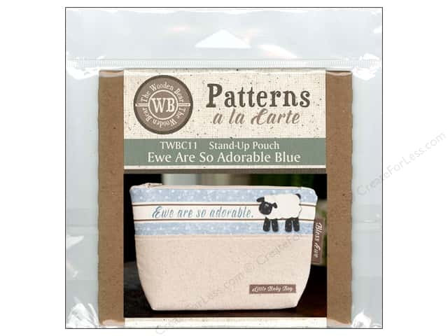 The Wooden Bear A La Carte Ewe Are So Adorable Blue CD Pattern