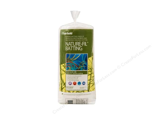 Fairfield Nature Fil Bamboo Blend Batting 60 x 60 in.