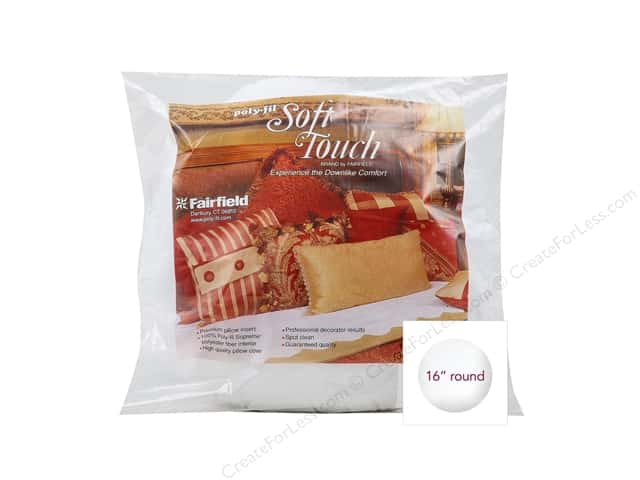 Fairfield Soft Touch Pillow Insert 16 in. Round