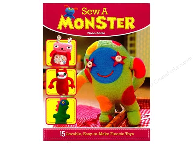 IMM Lifestyle Sew A Monster Book