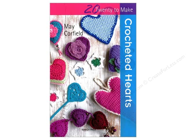 Search Press Twenty To Make Crochet Hearts Book
