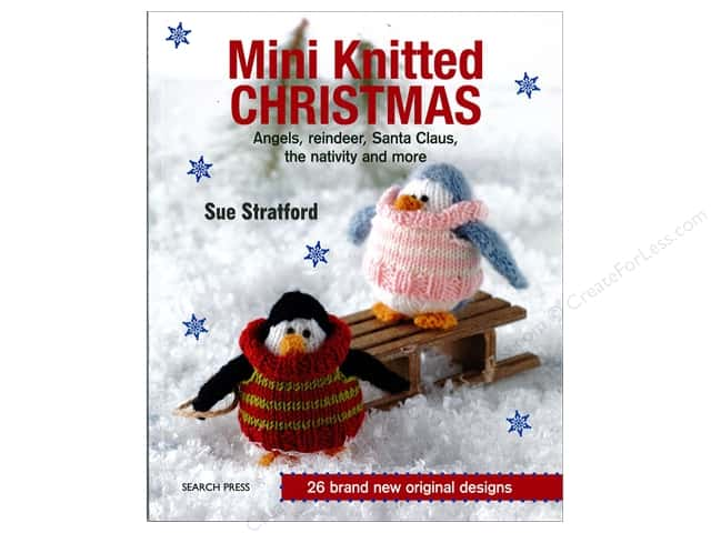 Search Press Mini Knitted Christmas Book