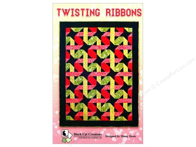 Black Cat Creations Twisting Ribbons Pattern