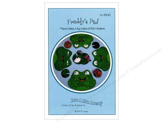 Susie C Shore Freddy's Pad Placemat Pattern