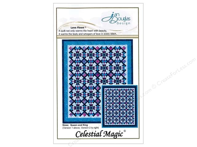 Jan Douglas Design Celestial Magic Pattern