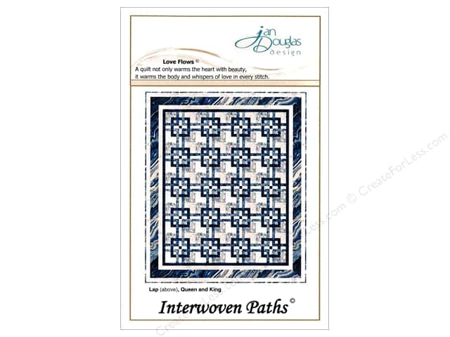 Jan Douglas Design Interwoven Paths Pattern
