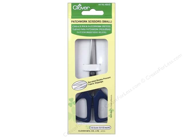 Clover Patchwork Scissors Small 5 1/4 in.