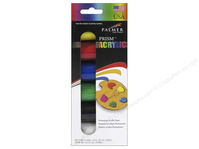 Palmer Acrylic Paint Set 6 pc.