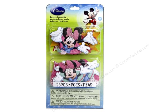 EK Disney Sticker 3D Layered Mickey Family