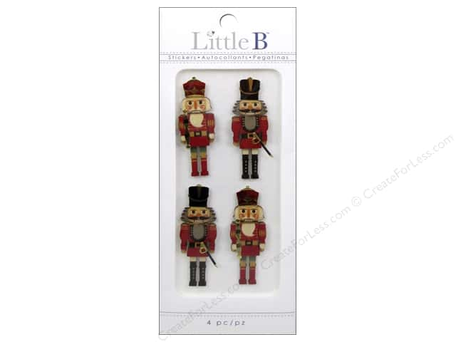 Little B Sticker Mini Classic Nutcrackers