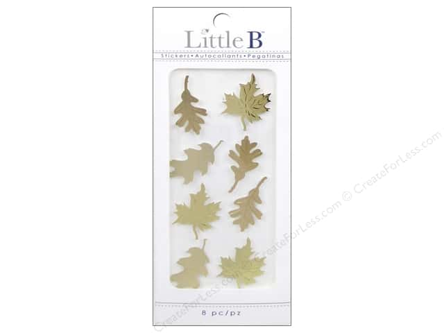 Little B Sticker Mini Autumn Leaves Gold