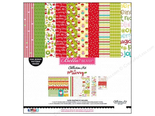 Bella Blvd 12 x 12 in. Collection Kit Make It Merry