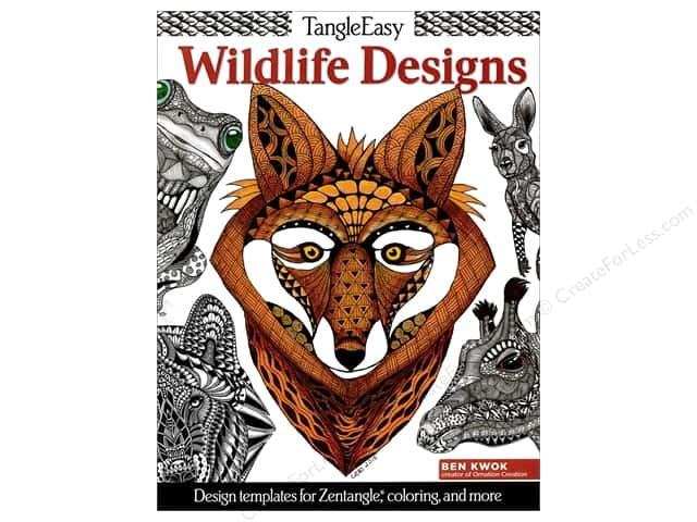 Design Originals Tangle Easy Wildlife Designs Book