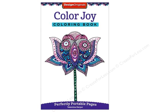 Design Originals Color Joy Coloring Book