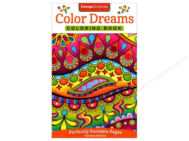 Design Originals Color Dreams Coloring Book