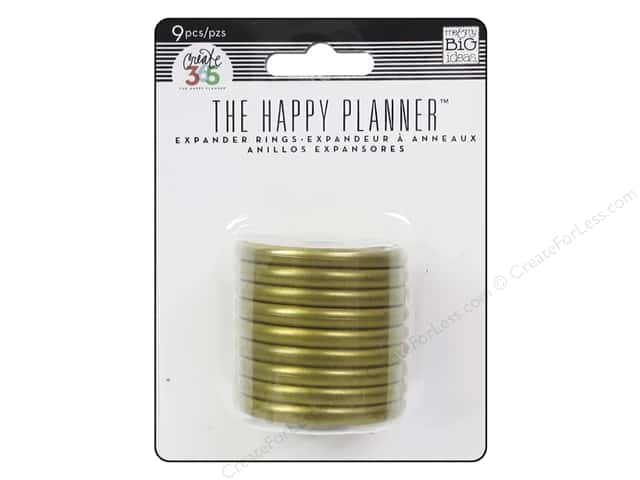 Happy Planner Expander Rings