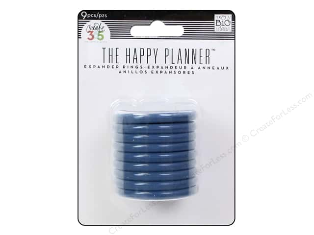 Me&My Big Ideas Create 365 Happy Planner Expander Rings Blue