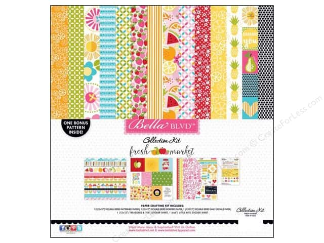 Bella Blvd 12 x 12 in. Collection Kit Fresh Market