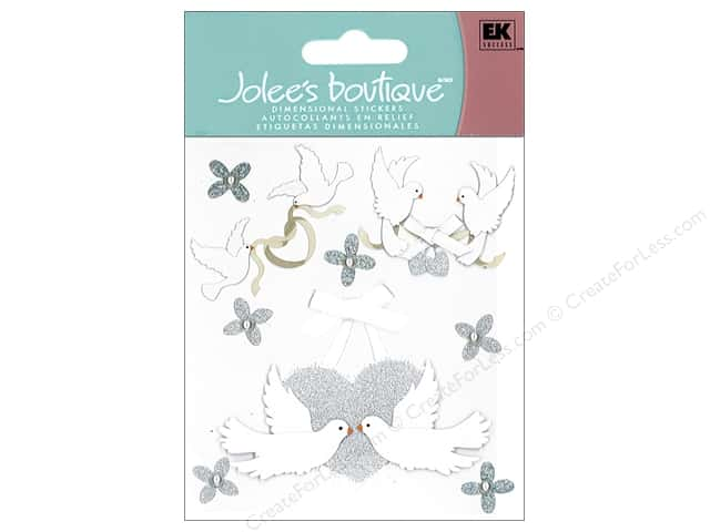 Jolee's Boutique Stickers Doves