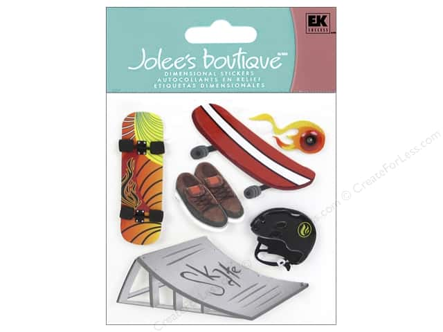 Jolee's Boutique Stickers Skateboard