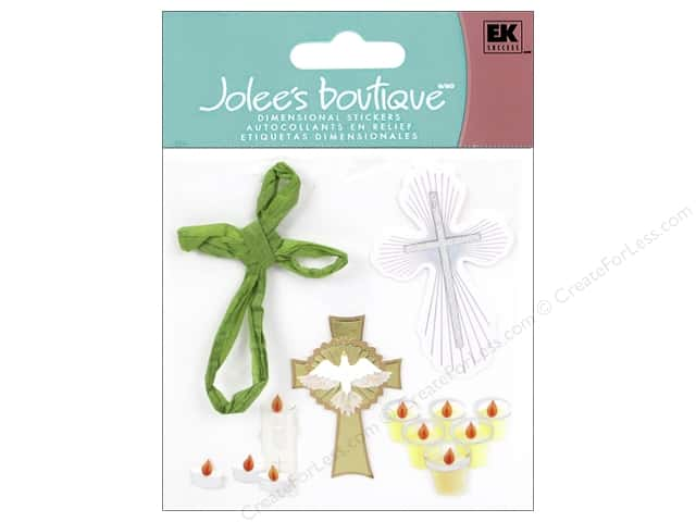 Jolee's Boutique Stickers Crosses