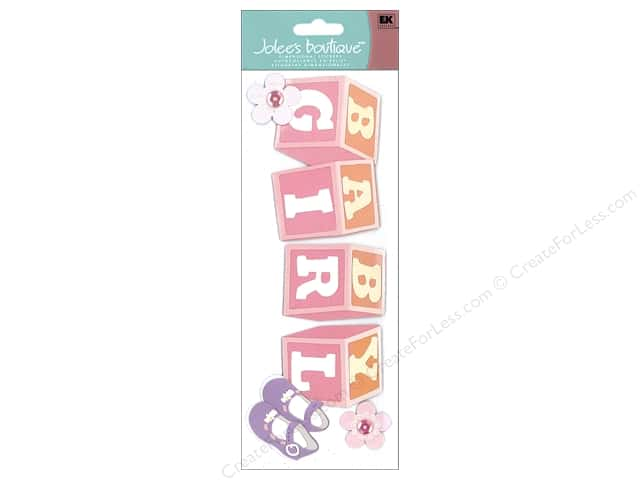 Jolee's Boutique Title  Stickers Baby Girl