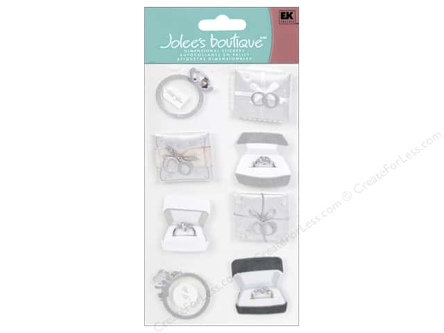 Jolee's Boutique Stickers Large Engagement Rings