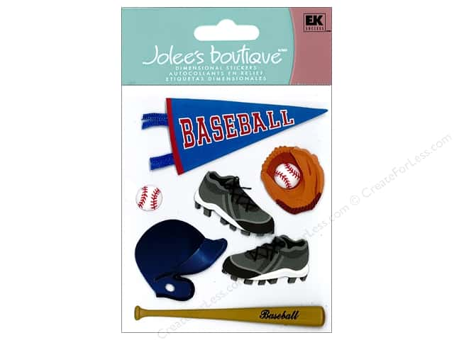 Jolee's Boutique Stickers Baseball