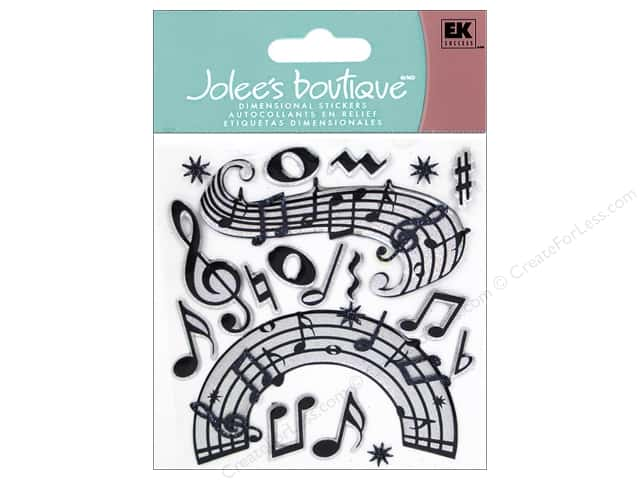 Jolee's Boutique Stickers Music Notes