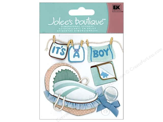 Jolee's Boutique Stickers Boy Clothes Line
