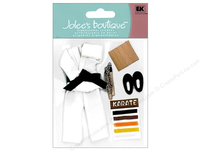 Jolee's Boutique Stickers Sports Karate