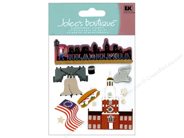 Jolee's Boutique Stickers Destination Philadelphia