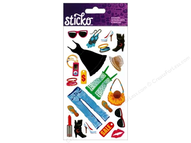 EK Sticko Stickers Fashion Sense