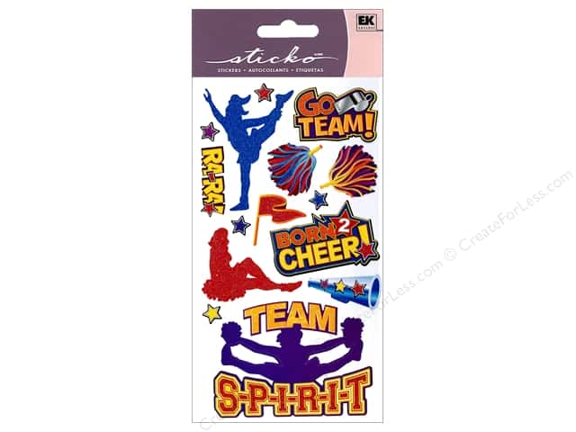 EK Sticko Stickers Cheerleaders