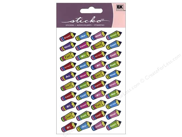 EK Sticko Stickers Repeats Pencil