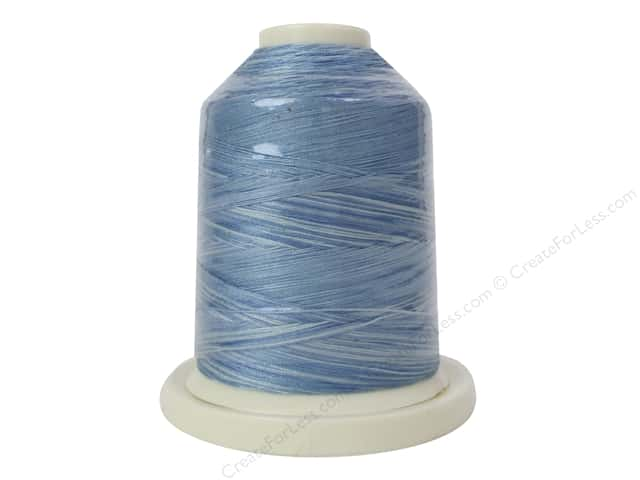 Signature 100% Cotton Thread 700 yd. #M82 Variegated Blue Skies