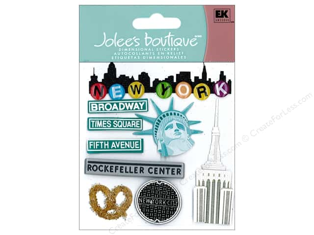 Jolee's Boutique Stickers New York