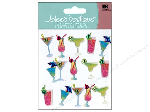 Jolee's Boutique Stickers Repeats Drink