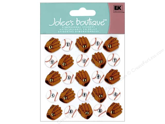 Jolee's Boutique Stickers Repeats Baseballs & Mitts