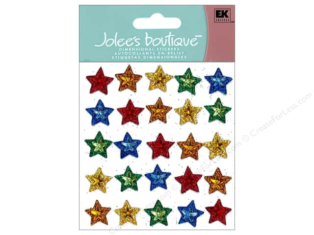 Jolee's Boutique Stickers Repeats Multi Stars