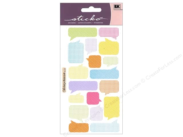EK Sticko Stickers Pattern Captions