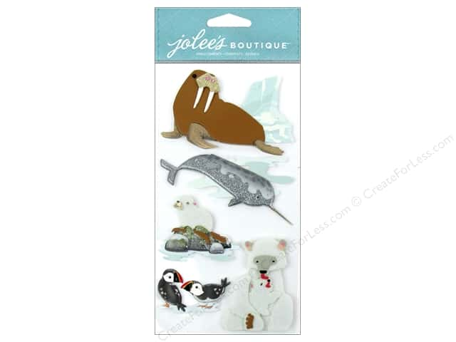 Jolee's Boutique Stickers Arctic Animals