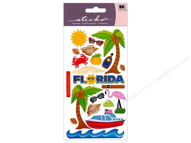 EK Sticko Stickers Florida