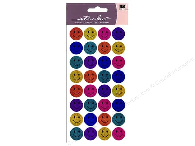 EK Sticko Stickers Happy Faces
